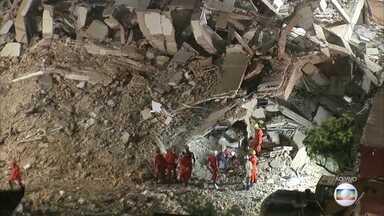 Sobe para sete o número de mortos no desabamento do prédio em Fortaleza - No quarto dia de buscas, ainda há duas pessoas desaparecidas: a síndica do prédio e um cuidador de idosos.