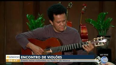 Evento reúne violonistas no Palácio da Música em Teresina - Evento reúne violonistas no Palácio da Música em Teresina