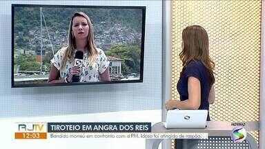 Idoso é vítima de bala perdida durante operação da Polícia Militar em Angra dos Reis - Caso aconteceu no Morro da Glória. Um homem foi morto na ação.