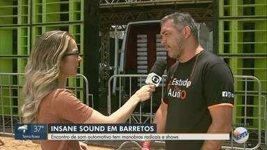 Encontro de som automotivo tem manobras radicais e shows em Barretos, SP - Evento acontece no Parque do Peão neste sábado (19) e no domingo (20).