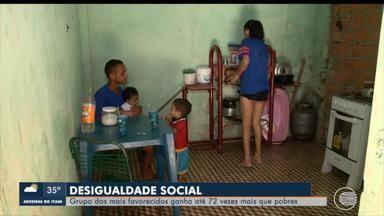 Cerca de 30% da população do Piauí vive com menos de R$ 200 por mês - Cerca de 30% da população do Piauí vive com menos de R$ 200 por mês