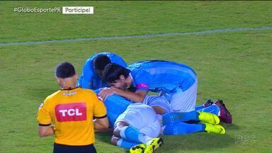 Londrina vence o Vitória e respira na Série B - Londrina vence o Vitória e respira na Série B