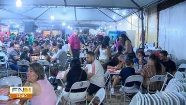 Festa da Padroeira oferece diversas delícias à população - Fundos devem ajudar na reforma do Santuário de Nossa Senhora Aparecida.