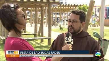 Católicos celebram São Judas Tadeu - Católicos celebram São Judas Tadeu.