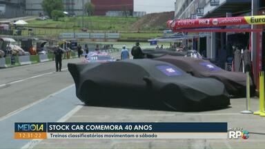 Treinos classificatórios da Stock Car movimentam o sábado, em Cascavel - A Stock Car comemora este ano 40 anos.