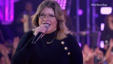 Marília Mendonça canta 'Supera' - Cantora se apresenta pela primeira vez no SóTocaTop