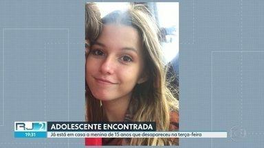 Adolescente que estava desaparecida há quatro dias já está em casa com a família - Alyssa Mischler foi encontrada na manhã deste sábado (19) ,