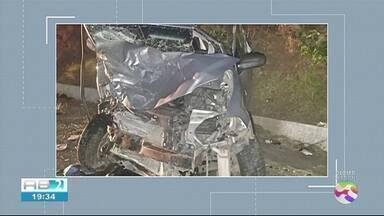 Jovem de 18 anos morre em acidente em Taquaritinga do Norte - Outras quatro pessoas também ficaram feridas.
