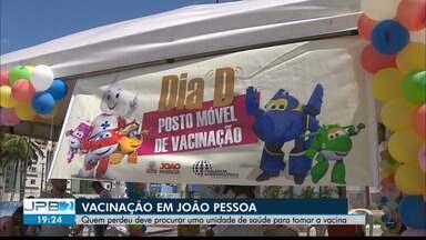 Paraíba faz mobilizações no dia D contra o Sarampo - Vacinação em Campina Grande aconteceu no Parque da Criança e em outros 54 pontos.