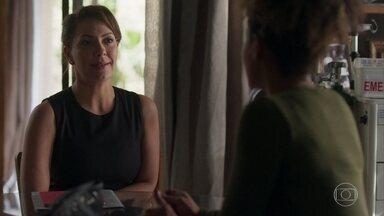 Nana e Gisele conversam sobre a gravidez da empresária - undefined