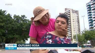 Em Manaus, câncer de colo de útero e de mama são os mais comuns - Em Manaus, câncer de colo de útero e de mama são os mais comuns