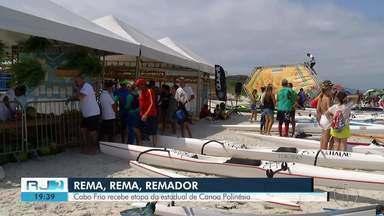 Cabo Frio recebe etapa do Estadual de Canoa Polinésia - Assista a seguir.