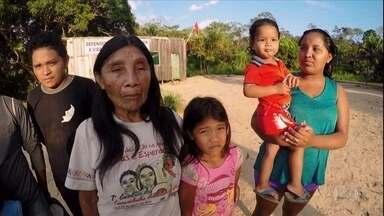 Índios karipunas relatam ameaças e sofrem com invasões de terra e desmatamento em Rondônia - Além dos crimes ambientais, os indígenas correm risco de extinção. Eles relatam que têm dificuldade até para circular no seu próprio território.