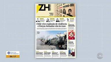 Confira as capas dos principais jornais do RS desta segunda-feira (21) - Assista ao vídeo.