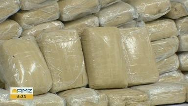 Mais de 50 kg de drogas são apreendidas na zona Sul de Manaus - Nenhum suspeito foi preso.