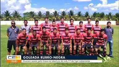 Guarani passa pelo Icasa na abertura do sub-17 da liga juazeirense - Saiba mais no g1.com.br/ce