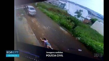 Mulher atropelada por ex conversa com a nossa equipe - O homem está preso acusado de tentativa de feminicídio