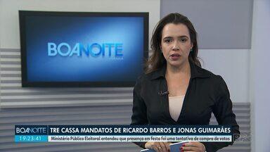TRE cassa mandato do deputado federal Ricardo Barros, do PP - O deputado estadual Jonas Guimarães do PSB também teve o mandato cassado