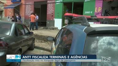 ANTT fiscaliza terminais e agências de turismo no Maranhão - O principal foco dos agentes é a atuação de empresas clandestinas.