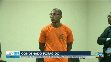 Envolvido na morte de Décio Sá está foragido de Pedrinhas em São Luís - Marcos Bruno Silva de Oliveira não retornou ao Complexo Penitenciário de Pedrinhas após ser beneficiado com a saída temporária do Dia das Crianças.