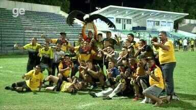 Timon comemora vitória e acesso inédito à Série A do Piauiense - Timon comemora vitória e acesso inédito à Série A do Piauiense