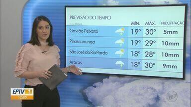 Veja como fica o tempo nesta terça-feira na região - Há previsão de chuva.