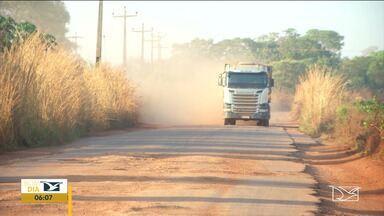 Maranhão tem 213 pontos críticos em rodovias, aponta pesquisa CNT - Levantamento da Confederação Nacional do Transporte analisou toda a malha federal pavimentada e os principais trechos estaduais também pavimentados.