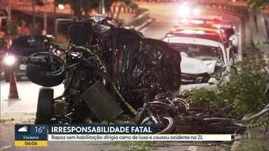 Bom Dia São Paulo - Edição de Quarta-Feira, 23/10/2019 - Acidente envolvendo três carros e uma moto deixa uma pessoa morta na capital. Aeroporto de Internacional de Guarulhos opera com irregularidades nos autos de vistoria.