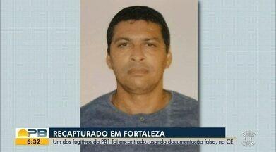 Fugitivo de presídio de segurança máxima da PB é preso em apartamento da orla de Fortaleza - Segundo a polícia, Gerliano Faustino Mascena Mendonça de 36 anos, conhecido como Massa Bruta ou Catatau, é um dos homens mais procurados da Paraíba.