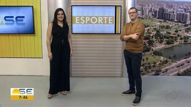 Thiago Barbosa conta os destaques do esporte em Sergipe - Thiago Barbosa conta os destaques do esporte em Sergipe.