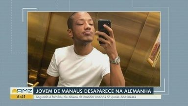 Desaparecimento de modelo amazonense na Alemanha preocupa familiares - Ele deixou de mandar notícias há quase dois meses.