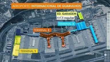 Terminais de Guarulhos não têm AVCB - Documento emitido por bombeiros é fundamental para garantir segurança.