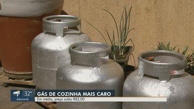 Preço do gás de cozinha aumenta em Ribeirão Preto - Petrobras anunciou novo aumento.