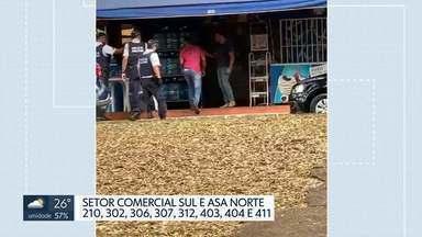 PM fecha pontos ilegais de jogo do bicho - A operação da polícia apreendeu máquinas de cartão, recibos, cerca de R$ 2 mil em dinheiro em quadras da Asa Norte e no Setor Comercial Sul.