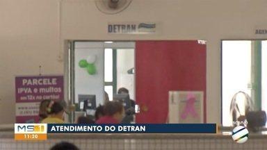 Posto do Detran no Fácil Guaicurus volta a atender depois de reforma - Local estava fechado desde chuva no mês de março