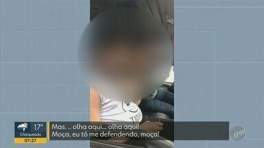 Motorista de van deu socos em aluno que é autista e deficiente visual - Caso aconteceu na última terça-feira (22), em Campinas (SP).