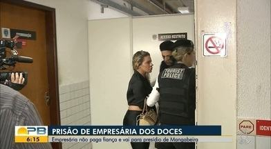 Suspeita de aplicar golpes em pessoas e empresas vai para presídio feminino, em JP - Mulher teria se recusado a pagar fiança.