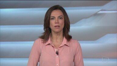 Bom dia Brasil - Edição de quinta-feira, 24/10/2019 - O telejornal, com apresentação de Chico Pinheiro e Ana Paula Araújo, exibe as primeiras notícias do dia no Brasil e no mundo e repercute os fatos mais relevantes.