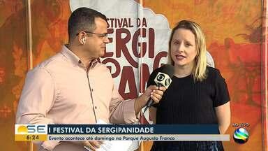 Festival da Sergipanidade começa nesta quinta-feira no Parque Augusto Franco - As atividades prosseguem até domingo, das 16h às 21h, com entrada gratuita.