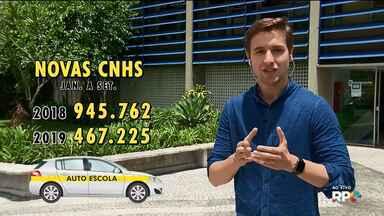 Cai pela metade o número de novos motoristas no Paraná - O alto custo pode ser uma das razões.