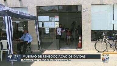 Unidade móvel do Procon em Rio Claro realiza mutirão para renegociação de dívidas - Atendimentos acontecem até sexta-feira (25) das 8h às 16h no estacionamento do PAT.