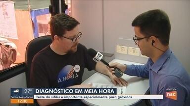Evento oferece testes rápidos e orientações sobre DST's no Centro de Florianópolis - Evento oferece testes rápidos e orientações sobre DST's no Centro de Florianópolis