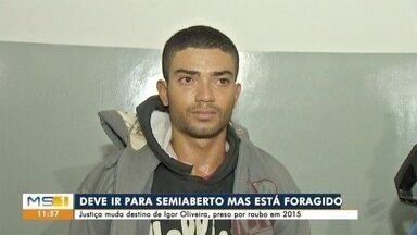 Está foragido assassino de motorista de aplicativo - Igor de Lima Oliveira deveria se apresentar na Casa do Albergado