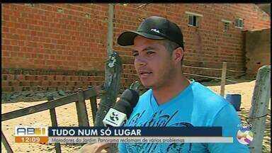 Moradores reclamam de problemas de metralha e lixo em Caruaru - Ocorrência é no bairro do Jardim Panorama.