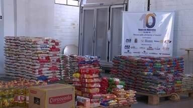 Em Cruz Alta, Natal do Bem fortalece ações do Banco de Alimentos - Uma média de 3.000kg de alimentos são doados por mês na cidade.