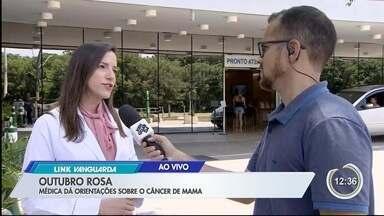 Médica dá dicas sobre identificação do câncer de mama - Veja as informações no link.