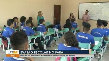 Evasão escolar afasta mais de 14 mil estudantes de escolas no Pará - Os dados colocam o Estado em um ranking negativo, como o 5º com o maior índice.