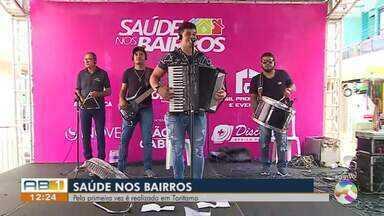Toritama recebe o projeto 'Saúde nos Bairros' - Evento é promovido pela TV Asa Branca