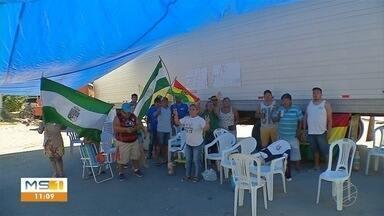 Fronteira com Mato Grosso do Sul completa 4 dias fechada por conta de protestos - Ação é organizada por manifestantes bolivianos contrários a reeleição do atual presidente Evo Morales.