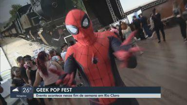 Geek Pop Fest reúne personagens de filmes, games e quadrinhos em Rio Claro - Primeira edição do evento ocorre neste fim de semana na cidade.